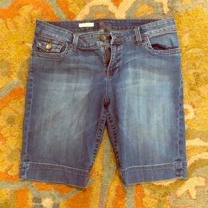 Denim Bermuda shorts Kut from the Kloth 14